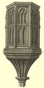 The pulpit about 1820 [Z1244]
